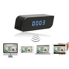 Clock with Wireless IP Camera
