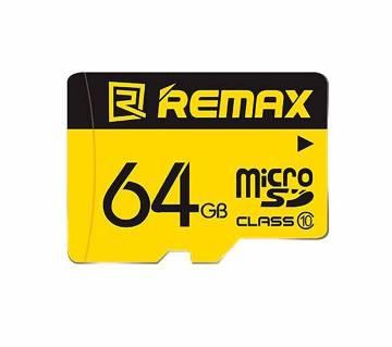 Remax 64GB TF মাইক্রো SD মেমোরি কার্ড