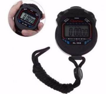 chronograph digital sports stop watch
