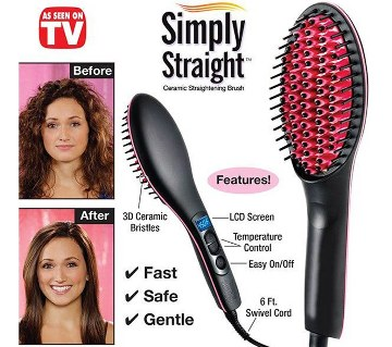 Simply Straight Hair Straightener Comb