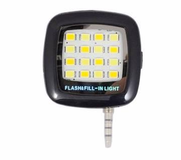 16 LED selfi flash light