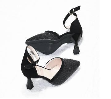 Artificial Leather Ladies Heels