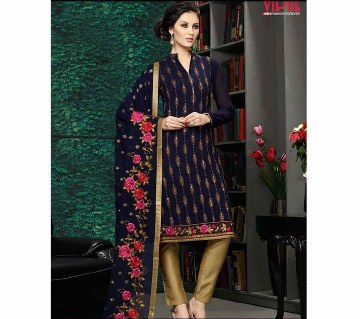 VIPUL Semistitched Georgette Embroidery Three Piece (Copy)