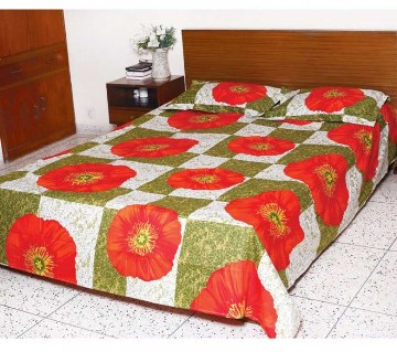 Home Tex Double Size Bed Sheet Set