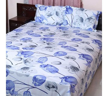 Home Tex Double Size Cotton Bed Sheet Set