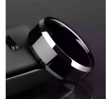 8mm Black Tungsten Carbide Ring