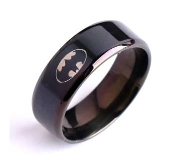 Black Batman Finger Ring for Men