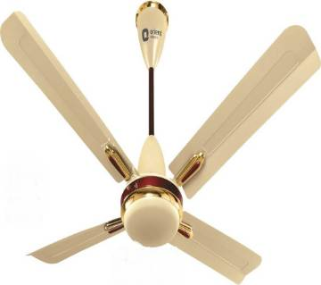 Quadro Metallic Ivory-Cherry Ceiling Fan 48