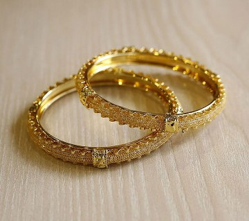 Indian gold plated bangles(2 pc)