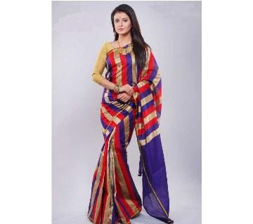 Multicolor silk sharee