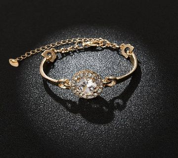 Birthday Jewelry Artificial Zircon Bracelet Female Korean Fashion Bracelet