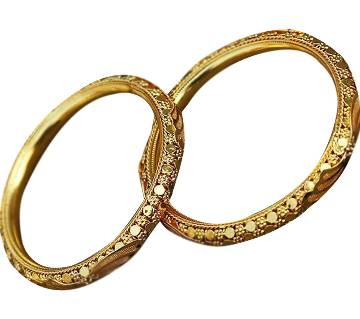 Indian gold plated bangles (2 pieces)