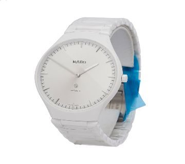 White Ceramic Mens wrist watch Rado jubli Watch with box-White