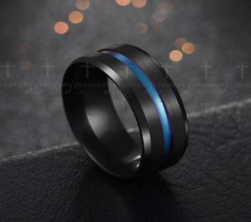 Brushed Surface Two Color Black Blue