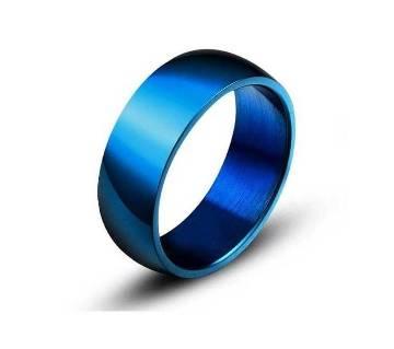 Blue Finger Ring