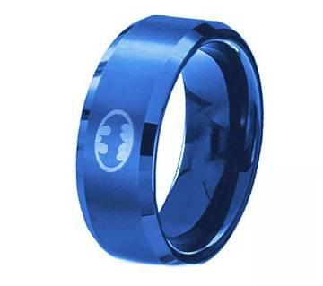 Blue Stainless Steel Finger Ring