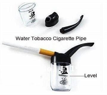 ORIGINAL Mini Hookah Water Tobacco Smoking Pipe Cigarette Holder Double Filter