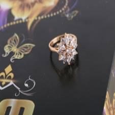american diamond cut finger ring-654
