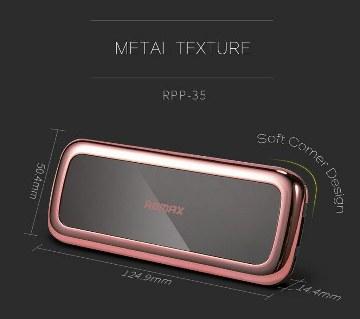 Remax Mirror 10000mAh পোর্টেবল পাওয়ার ব্যাংক