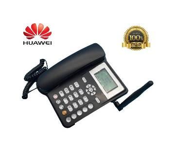 Huawei GSM ডেস্ক ফোন-সিম সাপোর্টেড