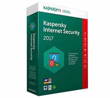 Kaspersky ইন্টারনেট সিকিউরিটি ২০১৭ - ১ ইউজার 1