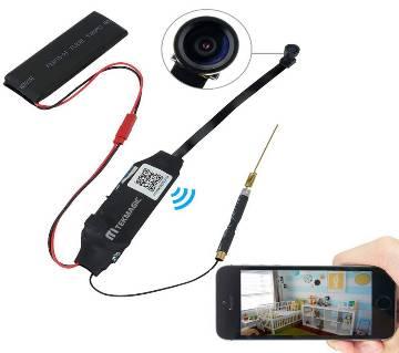 S06 Wireless IP SPY Hidden Camera - Black