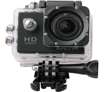 Waterproof HD Action Camera - Black