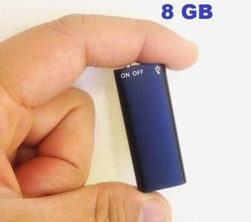 ডিজিটাল ভয়েজ রেকর্ডার- ৮ জিবি Mp3