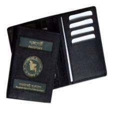 BD Passport Cover & Card Holder