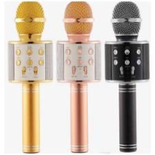 WS-858 Wireless Karaoke Microphone