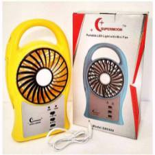 Portable Mini Fan With LED Light