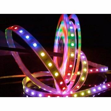 মাল্টিকালার LED স্ট্রিপ লাইট