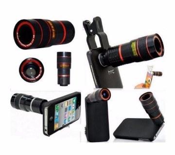 8X Zoom Universal Telescope Mobile Lens