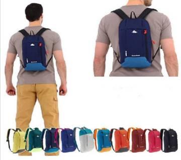 Nylon Fabric Waterproof Sports Backpack for Men Woman