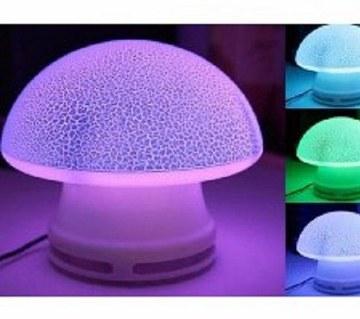 USB Mushroom LED Light with Speaker