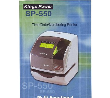 Kings Power Date & Time Stamping Machine