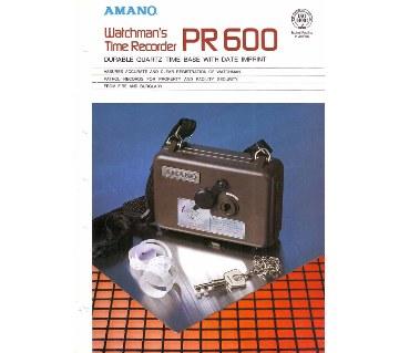 AMANO PR 600 Watchman