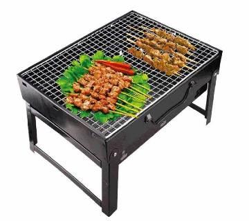 Portable grill set- coal