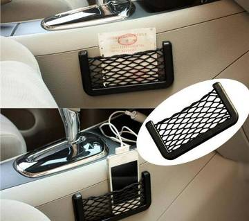 Car Storage string bag for Cell phone