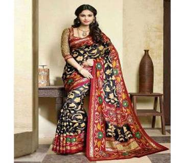 Assam Silk Digital Print Sharee