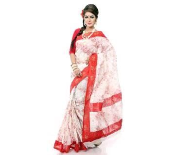 Dhansiri Tuli Printed Tangail Cotton Sharee