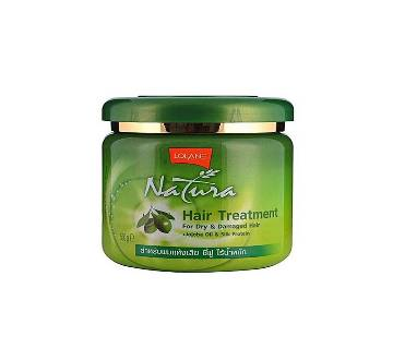 LOLANE Natura Hair Treatment For Dry And Damaged Hair With Jojoba Oil and Silk Protein - 500g Thailand