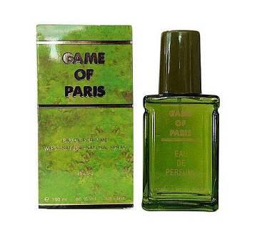 GAME OF PARIS Eau De Perfume For Men France