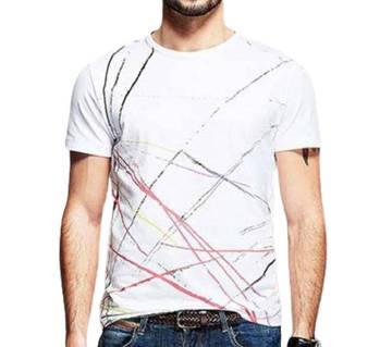 Gents Half Sleeve Cotton T-Shirt