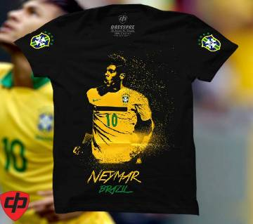 Neymar Gents Half Sleeve Cotton T-Shirt