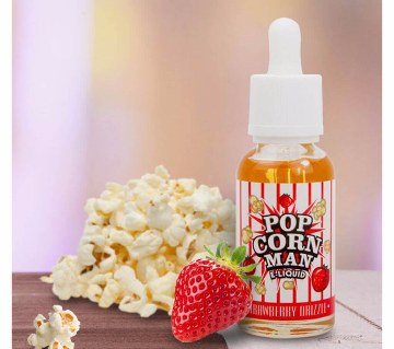 Strawberry Drizzle by Popcorn Man E-Liquid
