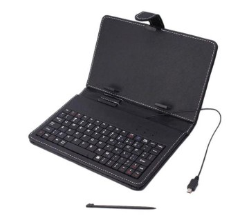 """7"""" Tab Cover with Keyboard - Black"""