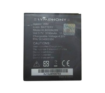Symphony W-82 3150 mAh Replacement Battery