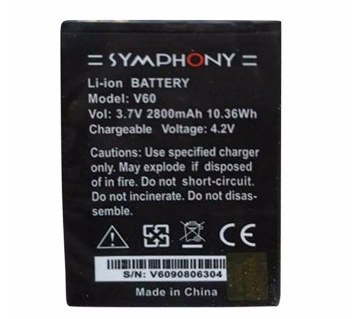 Symphony V-60 2800 mAh Replacement Battery