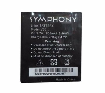 Symphony V-50 1800 mAh Replacement Battery